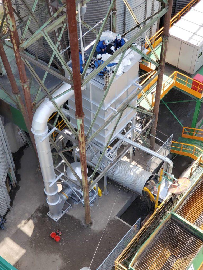 集塵機製作設置工事